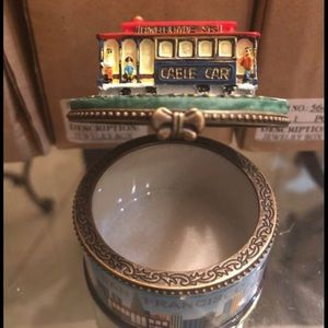 NIB San Francisco Trinket jewelry box